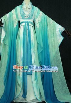 Trung Quốc truyền thống Imperial Court dress Á Quần Quốc Hanfu Costume Han Trung Quốc Phong cách phục Robe Trang phục triều cổ đại Dresses Complete Set Phụ nữ