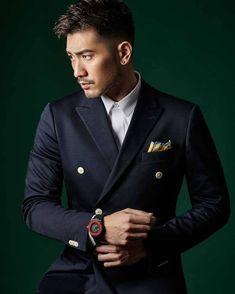 Hot Asian Men, Asian Guys, Godfrey Gao, Chinese Man, Asian Hotties, Modern Man, White Man, Beautiful Boys, Mens Suits