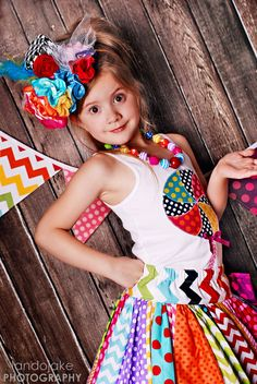 CANDY SHOP supertwirl skirt and tank set sizes 12mo by 3lpcouture