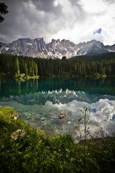 Karersee by Barbara Burzo on 500px South Tirol #Italy