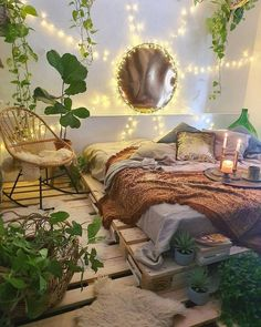 Source by lissyhundefan melville aesthetic bedroom - bohemian bedroom Dream Rooms, Dream Bedroom, Bedroom Bed, Gypsy Bedroom, Master Bedroom, Garden Bedroom, Bedroom Plants, White Bedroom, Bedroom Furniture