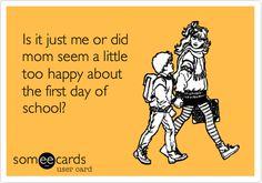 First day of school humor funny kids school siblings humor back to school Back To School Quotes, Back To School Teacher, Back To School Supplies, Going Back To School, First Day Of School, School Stuff, School Days, School Tomorrow, School Week
