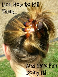 How to Kill Lice and Have Fun Doing It by MomFaze