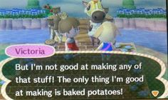 In all fairness i cant even make baked potatoes so way to go victoria