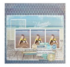Good Life - Kaisercraft - Sandy Toes Collection http://www.scrapbook.com/gallery/image/layout/5273239.html#dEthMMt6mi5kVaW1.99