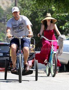 Adam Sandler rides...
