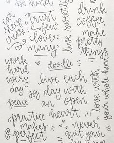 Dreaming up ideas and drawing pretty letters   Is there anything you'd like to see in 2016 in terms of globes mugs etc? by by.samantha
