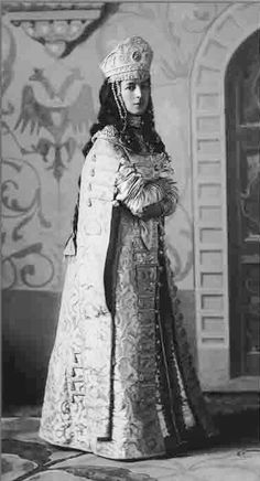 Princess Sofia Ivanovna Orbeliani (1875-1915). Princess Sofia was a maid-of-honour to Tsarina Alexandra.