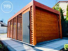 Dreniana wiata garażowa producent woodbud 2021 Garage Doors, Outdoor Decor, Home Decor, Decoration Home, Room Decor, Home Interior Design, Carriage Doors, Home Decoration, Interior Design