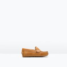 LEATHER MOCCASIN-Shoes-Baby boy (3 months - 3 years)-KIDS | ZARA United States