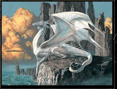 Dragon drawing by Ciruelo Cabral. This is from one of his dragons calenders. I love dragons and he depicts them so majestically. He is one of my favorit artist of dragons. Fantasy Magic, Fantasy World, Fantasy Art, Magical Creatures, Fantasy Creatures, Creature Fantasy, Cool Dragons, Dragon Pictures, Dragon Images
