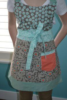 apron. I like the fabric choices.