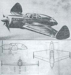 the Moskalyov SAM-7 Sigma two-set fighter, circa 1935  remove the propeller, and this definitely resembles something special - more on Sunday… (clue)
