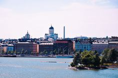 Helsinki Cathedral, view from the zoo, Finland by Giada Ciotola