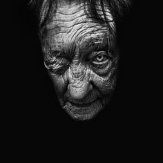 This portrait is totally out of the ordinary!  Courtesy of Lee Jeffries