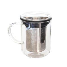 Tea for Me Mug — features a reuseable brewing basket and glass lid. Epicure Recipes, Tea Recipes, Fig Leaf Tea, Tea Cocktails, Recipe For Success, Turmeric Tea, Golden Milk, Bulletproof Coffee, Perfect Cup