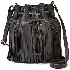 Fossil Jules Mini Fringe Drawstring Satchel Zb6765001 Color: Black ($148) ❤ liked on Polyvore featuring bags, handbags, mini satchel, mini purse, drawstring handbag, mini drawstring bags and drawstring purse