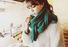 kfashion. Love the scarf!