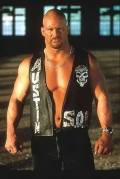 """Stone Cold"" Steve Austin. My first and all time favourite WWE Superstar! No one will EVER be better than this man!"