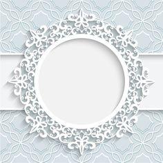 Lace ornament paper frame vector Free vector in Molduras Vintage, Scrapbook Paper, Scrapbooking, Photoshop Shapes, Borders And Frames, Paper Frames, Flower Frame, Graphic Design Art, Wallpaper Backgrounds
