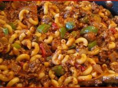 Goulash Recipe- I loved this when I was a kid