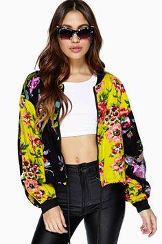 Botanic Bomber Jacket