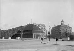 Bahnhof Witzleben / Bahnhof Berlin Messe Nord/ICC | Berlin, Charlottenburg (Berlin), Neue Kantstraße 1913-1916