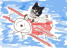 Mr. Putter & Tabby fly the plane activities (picture is not related to this link, but I like that art idea too!)