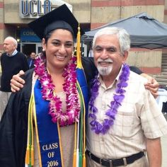 With my daughter, at her UCLA graduation