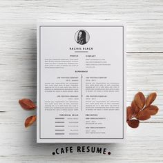 modern resume template cover letter template for word diy printable 2 pack black edition modern and creative design Modern Resume Template, Cv Template, Resume Templates, Cover Letter Template, Letter Templates, Cover Letters, Letters Ideas, Cv Simple, Cv Inspiration