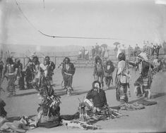 War Dance ceremony – Nez Perce – 1900