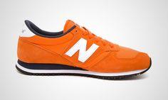 New Balance 420 - Orange.   All @andrea tam's fault.