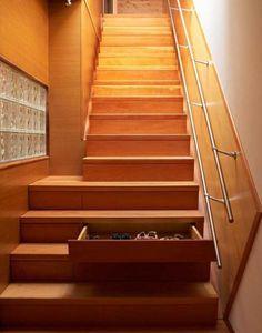 Escalera organizadora