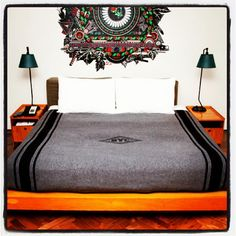 We love @theAceHotel's new wool Midtown Blanket made exclusively by @ #NYC
