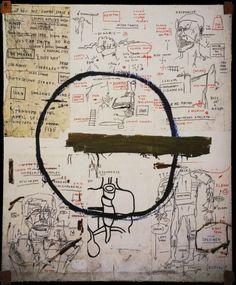 Jean-Michel Basquiat. Jesse. 1983.