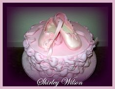 Sugar Paste Ballet Shoes. This site has great tutorials!