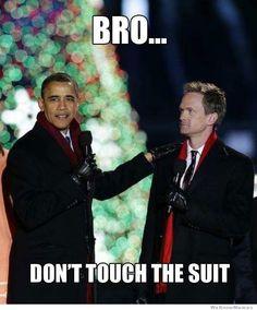 NPH meets Obama!