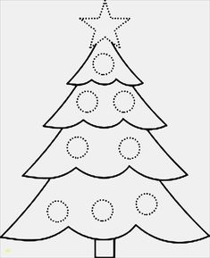 Simple Christmas Tree Template - Beautiful Simple Christmas Tree Template , Printable Christmas Tree Coloring Pages In Trees In Page Christmas Tree Printable, Christmas Tree Template, Christmas Tree Pictures, Unique Christmas Trees, Preschool Christmas, Free Christmas Printables, Christmas Colors, Xmas Tree, Christmas Ornaments