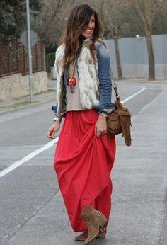 rojo y étnico ♡