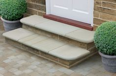 Fairstone Sawn Sandstone Steps - Antique Silver Multi