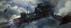 god of war 1 environment concept art - Google 검색