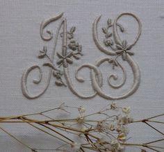 A. S.Monogram My Initials, love