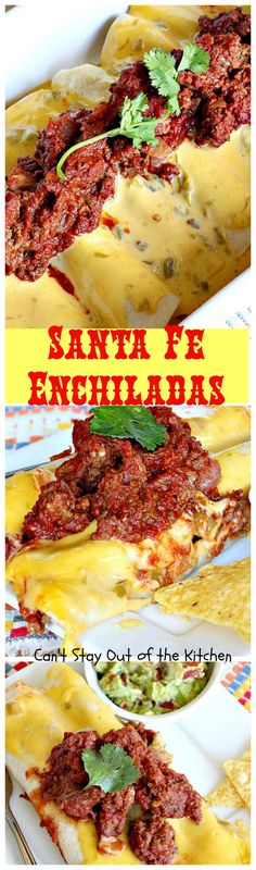 Santa Fe Enchiladas | Can't Stay Out of the Kitchen | pinning for idea. needs tweaking.