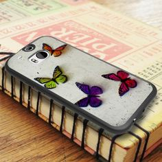 Butterfly Color Art Print HTC One M8 Case