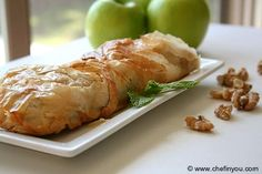 Traditional Austrian Apple Strudel