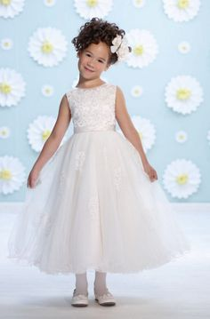 Joan Calabrese for Mon Cheri Flower Girl Dresses