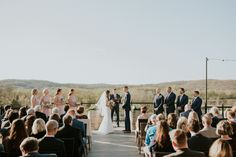 Chandler Hill Vineyards wedding. Perfect winery ceremony wedding.