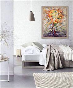 ,,A whispered secret ,, Original Painting Acrylic Abstract Heavy Textured Painting Wall Decor Wall Canvas Art Wall Hanging European Art Modern Art  Gift Ideas