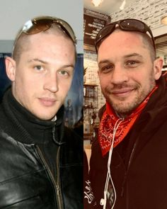 """Tom Hardy en Instagram: """"The difference 10 years makes  2008 vs 2018 ~ #thenandnow #tomhardy #2008 #2018"""""""