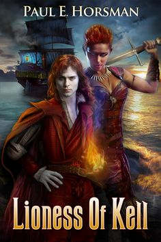 Lioness of Kell - a Fantasy Adventure novel for Y. and Older, made by Ravven. Best Book Covers, Beautiful Book Covers, Book Cover Art, Cool Books, Ya Books, Reading Books, High Fantasy, Fantasy Books, Adventure Novels